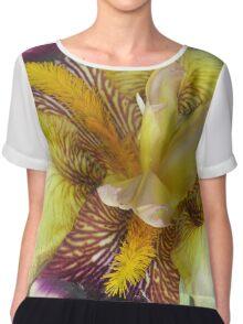 Colorful Iris #2 Chiffon Top
