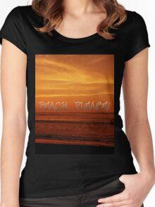 Beach, Please! Women's Fitted Scoop T-Shirt