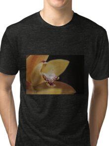 Yellow Satin Tri-blend T-Shirt