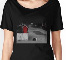 Cat Mail Women's Relaxed Fit T-Shirt