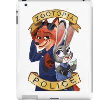 Zoo Police iPad Case/Skin