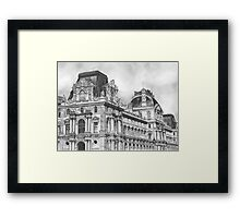 Right Wing of the Louvre  Framed Print