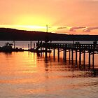 Orcas Island Sunset by Claire Ramsey