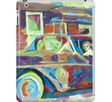 Grandma's Here! Classic car Picture iPad Case/Skin