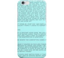 Anne of Green Gables - Chapter 5 iPhone Case/Skin