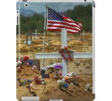 Desert Cemetery iPad Case/Skin