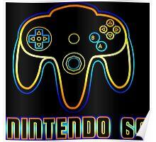N64 Neon Poster