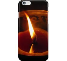 candle flame #1 iPhone Case/Skin