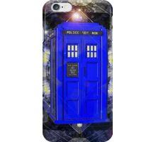 TARDIS CLASSIC LONDON POLICE BOX 1 iPhone Case/Skin