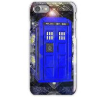 TARDIS CLASSIC LONDON POLICE BOX 1 iPhone Case/Skin