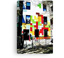 The Tetris Apartment Canvas Print
