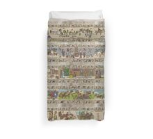 Fifteen panels of Gabeaux Tapestry Duvet Cover