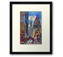 Chrysler Building New York City Picture Framed Print