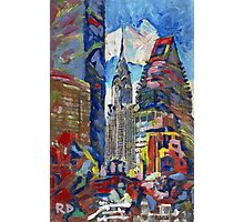 Chrysler Building New York City Picture Photographic Print