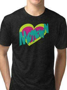 Motown heart Tri-blend T-Shirt