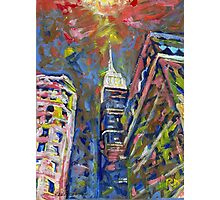 Fifth Avenue Empire State Building, New York City Picture Photographic Print