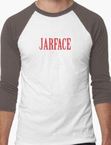 JARFACE Men's Baseball ¾ T-Shirt