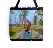 """Negro tenant farmer"" in Jefferson County, Kansas, 1938. Tote Bag"