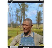 """Negro tenant farmer"" in Jefferson County, Kansas, 1938. iPad Case/Skin"
