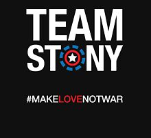 Team Stony - Love Not War Women's Fitted V-Neck T-Shirt