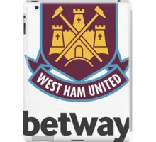 Wes Ham United iPad Case/Skin