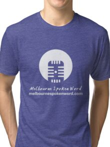 Melbourne Spoken Word Logo Tri-blend T-Shirt