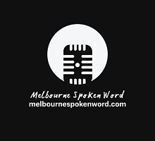 Melbourne Spoken Word Logo Mens V-Neck T-Shirt
