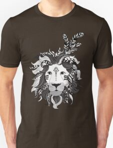 Animal Drawings Regal Tribal Lion T-Shirt