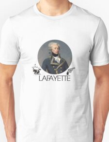 Lafayette Guns and Ships Unisex T-Shirt