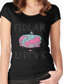 fidlar band Women's Fitted Scoop T-Shirt