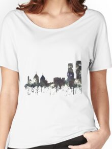 Mississauga, Ontario, Canada Skyline - CRISP Women's Relaxed Fit T-Shirt
