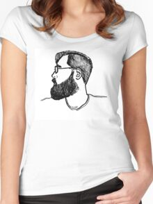 Portrait Two (Years Later) Women's Fitted Scoop T-Shirt