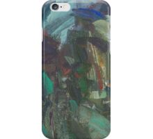 cliff by the lake. etude iPhone Case/Skin