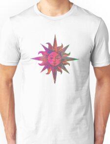 Pink Sun Unisex T-Shirt