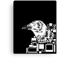 White Crow Canvas Print