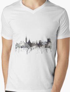 Ottawa, Ontario, Canada Skyline - CRISP Mens V-Neck T-Shirt