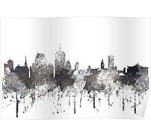 Quebec City, Quebec, Canada Skylines Poster