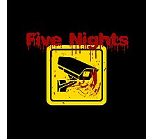 Five Nights Security Photographic Print