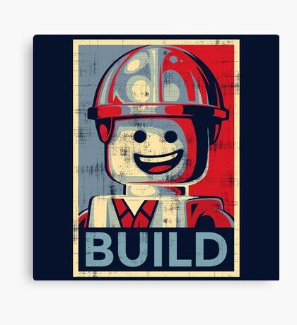 BUILD Canvas Print