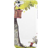Calvin & Hobbes - Tree Trouble iPhone Case/Skin
