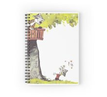 Calvin & Hobbes - Tree Trouble Spiral Notebook