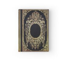 Ornate Gold Frame Book Cover Hardcover Journal