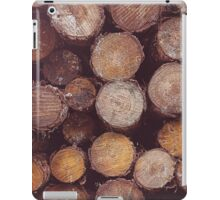 Forest trees iPad Case/Skin