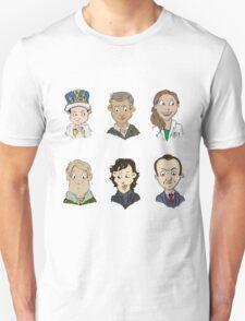 bbc sherlock cast Unisex T-Shirt