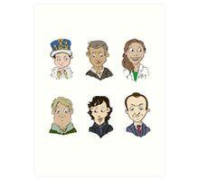 bbc sherlock cast Art Print