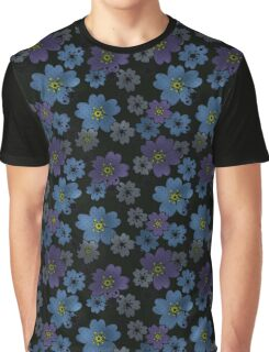 Seamless floral pattern flowers print background Graphic T-Shirt