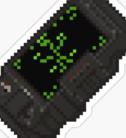 Pixel Pip-Boy 3000 Sticker