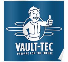 Vault Tec Prepare for Future Poster