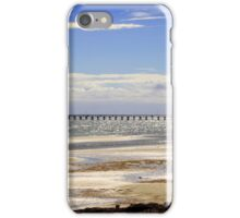 A Quiet Day at the Beach iPhone Case/Skin