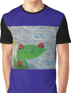 Love Bugs by Diamante Lavendar Graphic T-Shirt